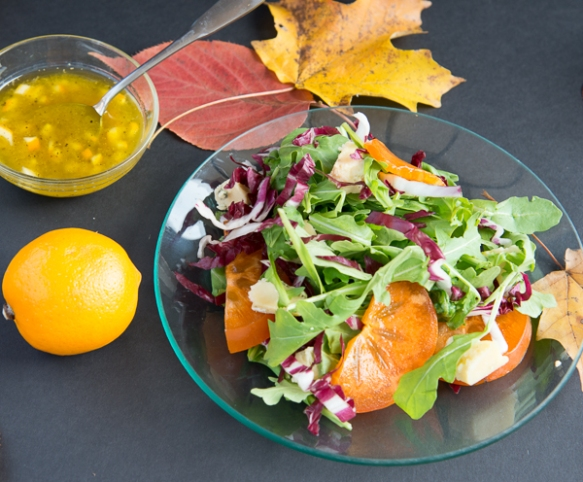 persimmon salad 3