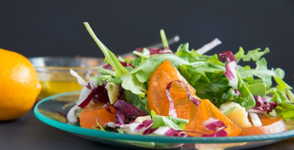 persimmon salad recipe 4